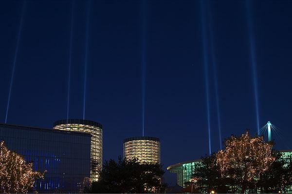 Autostadt Wolfsburg, Blue Hour